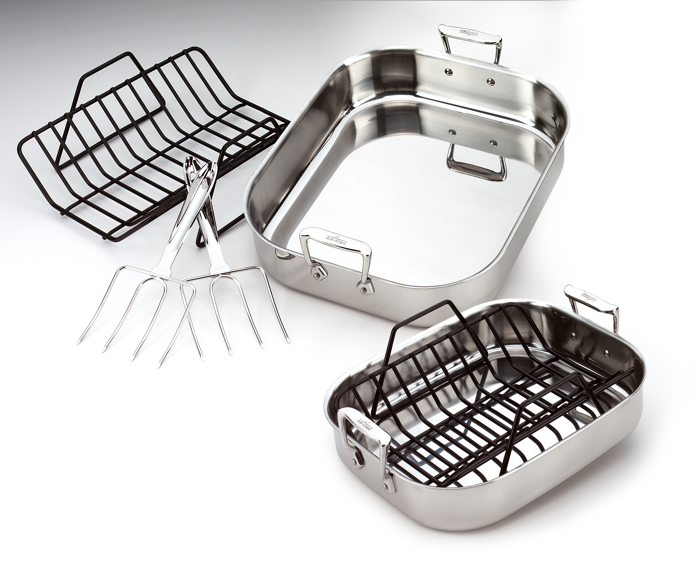 All Clad Stainless Steel Roti Pan 501631 Ebay