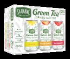 Saranac Green Tea Seltzer / 12 Pack of Cans