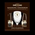 Ommegang Quadrupel Conundrum Gift Set / 4-pack bottles + glass