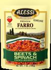 Alessi Farro Beets & Spinach Risotto