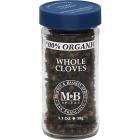 Morton & Bassett Organic Whole Cloves