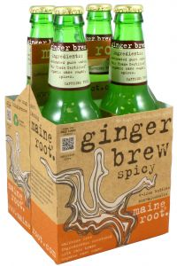 Maine Root Ginger Brew 4 Pk