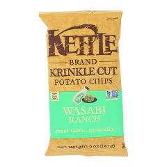 Kettle Wasabi Ranch Potato Chips - 5 oz Bag