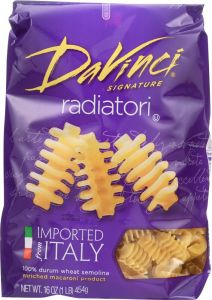DaVinci Signature Pasta Radiatore - 16 oz Bag