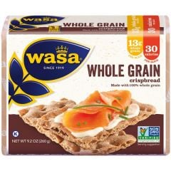 Wasa Whole Grain Crispbread - 9.2 oz Package