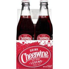Cheerwine Soda 4 Pk