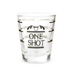 Bullseye: Measured Shot Glass