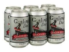 Gosling Diet Ginger Beer 6 Pk