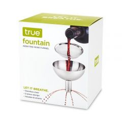 Fountain Aerating Decanter Funnel