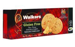 Walkers Gluten Free Ginger & Lemon Shortbread Rounds