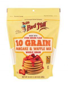 Bob's Red Mill 10 Grain Pancake & Waffle Mix 24 oz Bag