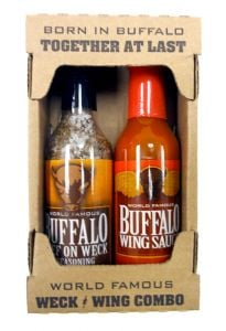 Buffalo Collection Weck & Wing Combo