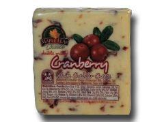 MapleLeaf Cranberry White Cheddar Cheese 8 - 9 oz. Portion