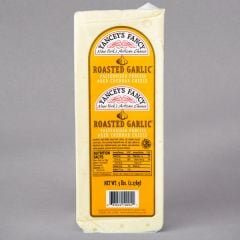 Yancey's Fancy Roasted Garlic Cheddar 8-9 Oz Portion
