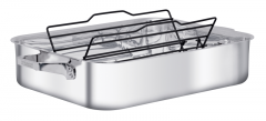 Zwilling JA Henckels Open Roasting Pan Mirror Finish