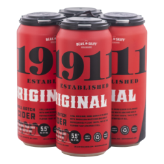 1911 Original Hard Cider / 4-pack cans