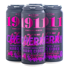 1911 Black Cherry Hard Cider / 4-pack cans