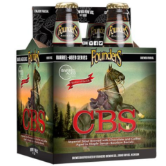 Founders CBS Imperial Stout - 4 Pack of 12 oz Bottles