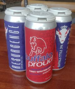 Resurgence Brewing Buffalo Proud IPA / 4 Pack of Cans