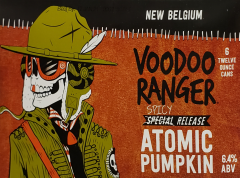New Belgium Brewing Company Voodoo Ranger Atomic Pumpkin/ 6-Pack cans