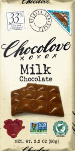Chocolove Milk Chocolate Bar