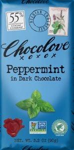 Chocolove Peppermint Chocolate Bar