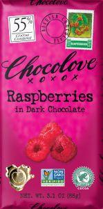 Chocolove Raspberry Dark Chocolate Bar