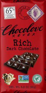Chocolove Rich Dark Chocolate Bar