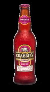 Crabbie's Raspberry Alcoholic Ginger Beer / 4 Pack of Bottles