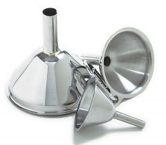 Norpro 3-Piece Stainless Steel Funnel Set # 252