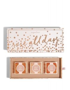 Sugarfina 3 Piece Rose All Day Bento Box