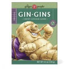 The Ginger People Gin-Gin Ginger Chews 4.5 oz Box