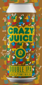 Thin Man Crazy Juice - 4 Pack of Cans