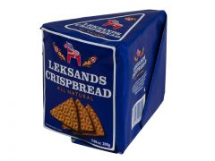 Leksands Crispbread Wedges - 7.6 oz Package