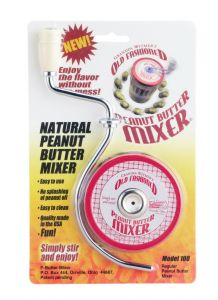 Harold Imports Natural Peanut Butter Mixer for Jars w/openings up to 3""