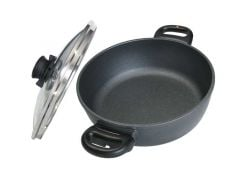 Swiss Diamond 3.2 Quart Casserole Pan with Lid (6824C)
