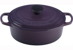 Le Creuset 3.5qt Signature Oval French Oven Cassis