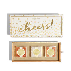 Sugarfina 3 Piece Cheers Bento Box