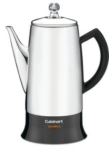 Cuisinart Stainless Steel Coffee Percolator PRC-12