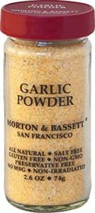 Morton & Bassett Garlic Powder