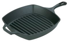 Lodge 10.5 Inch Square Grill Pan