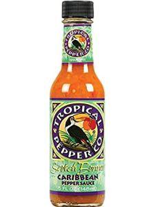 Tropical Pepper Co. Scotch Bonnet Caribbean Pepper Sauce - 5 oz Bottle
