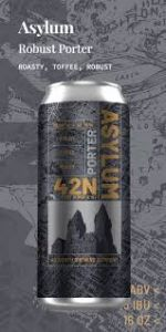 42 North Asylum Porter / 4-pack cans