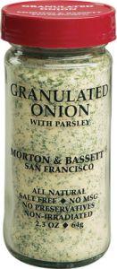 Morton & Bassett Granulated Onion
