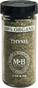 Morton & Bassett Organic Thyme