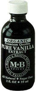 Morton & Bassett Organic Vanilla Extract 2 Oz.
