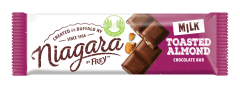 Niagara Toasted Almond Milk Chocolate Bar - 1.4 oz