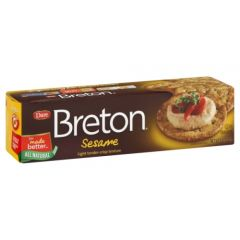 Dare Breton Sesame Crackers -  8 oz Box