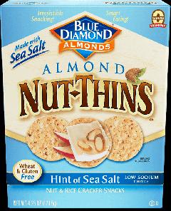 Blue Diamond Hint of Sea Salt Almond Nut Thins