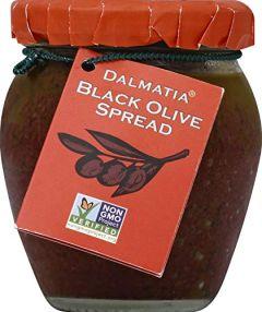 Dalmatia Black Olive Spread - One 6.7 oz Jar